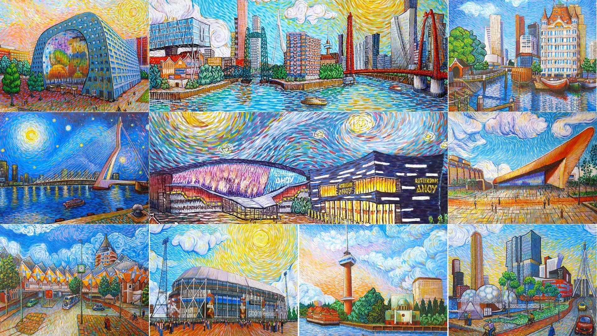 Rotterdam Ahoy Als Van Gogh