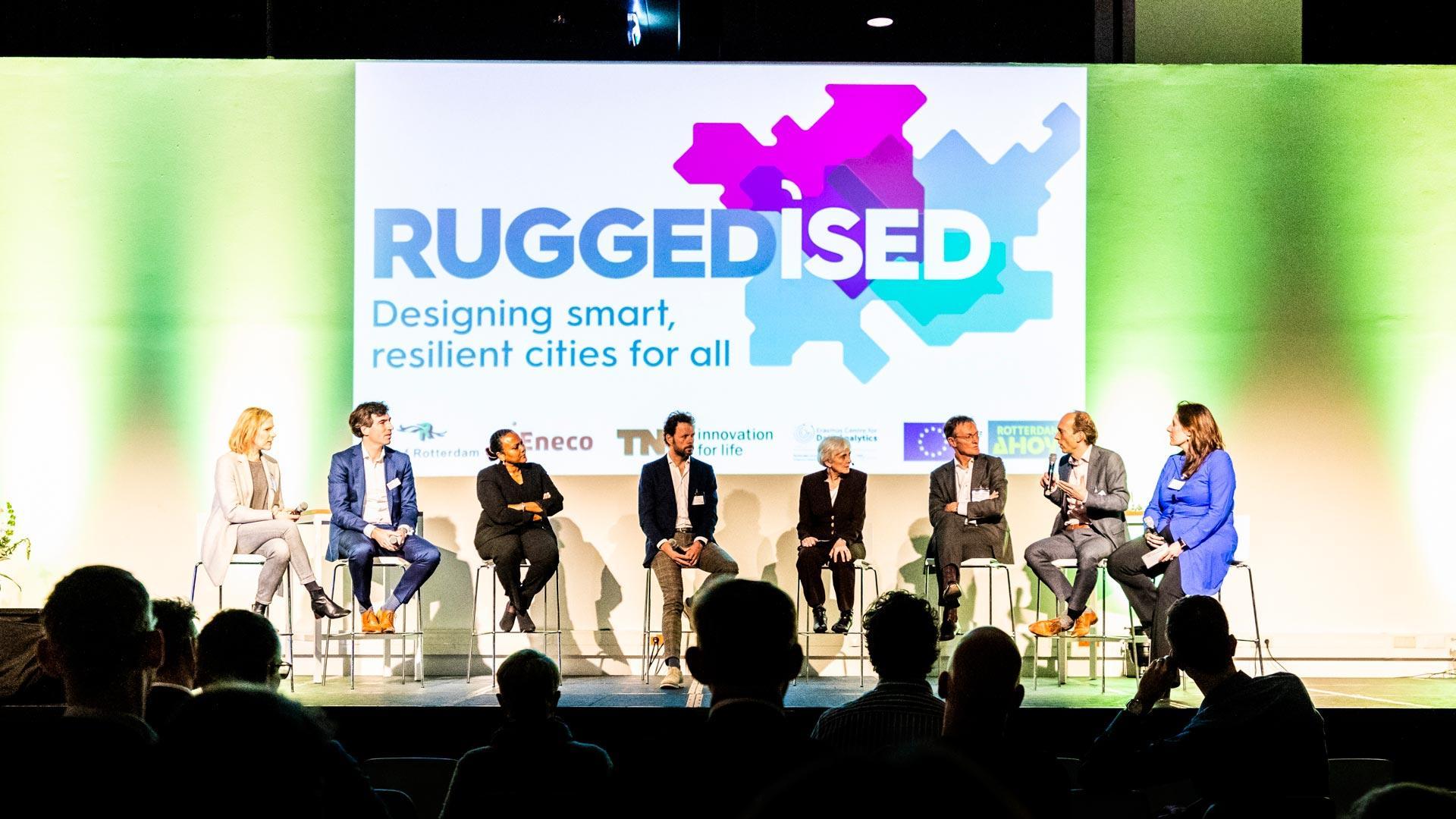 RUGGEDISED-congres in Rotterdam Ahoy maakt zichtbaar dat samenwerken loont om de stad te verduurzamen