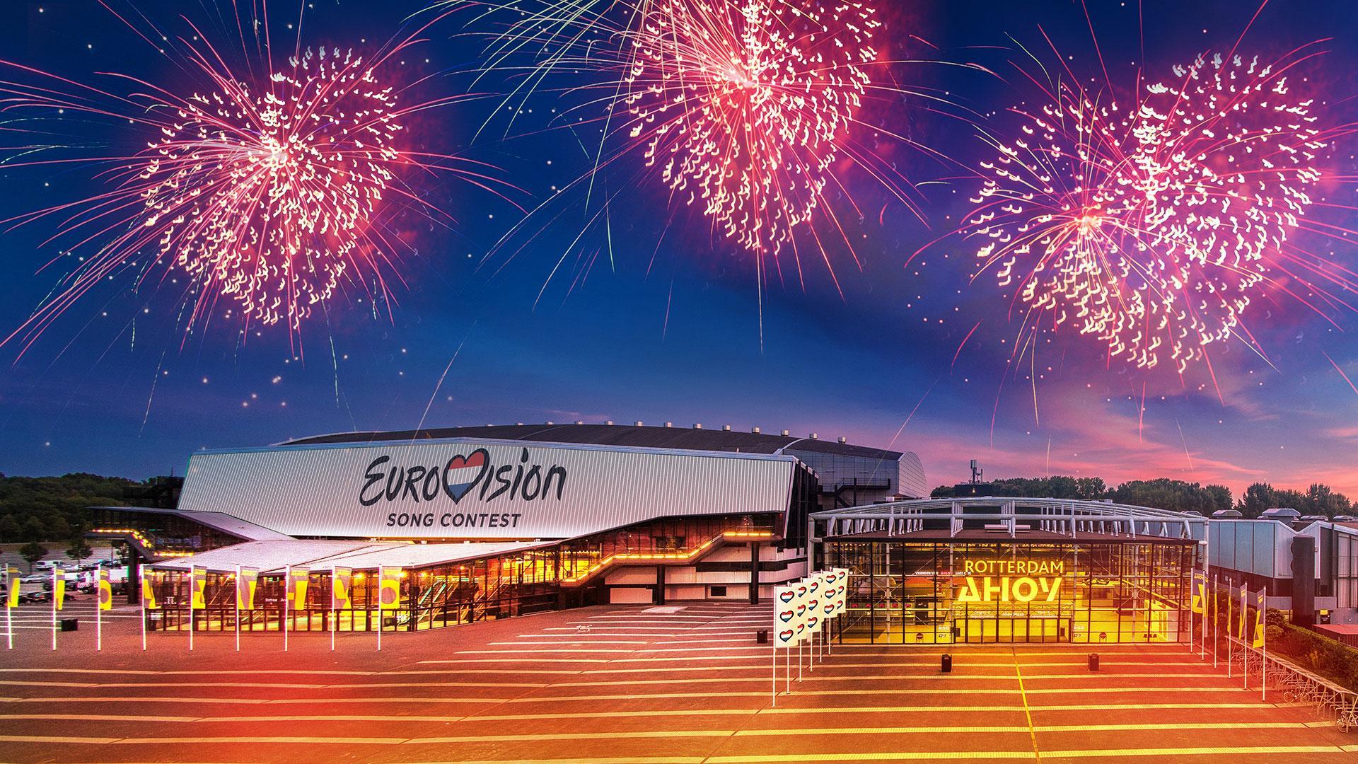 Het Eurovisie Songfestival komt naar Rotterdam!