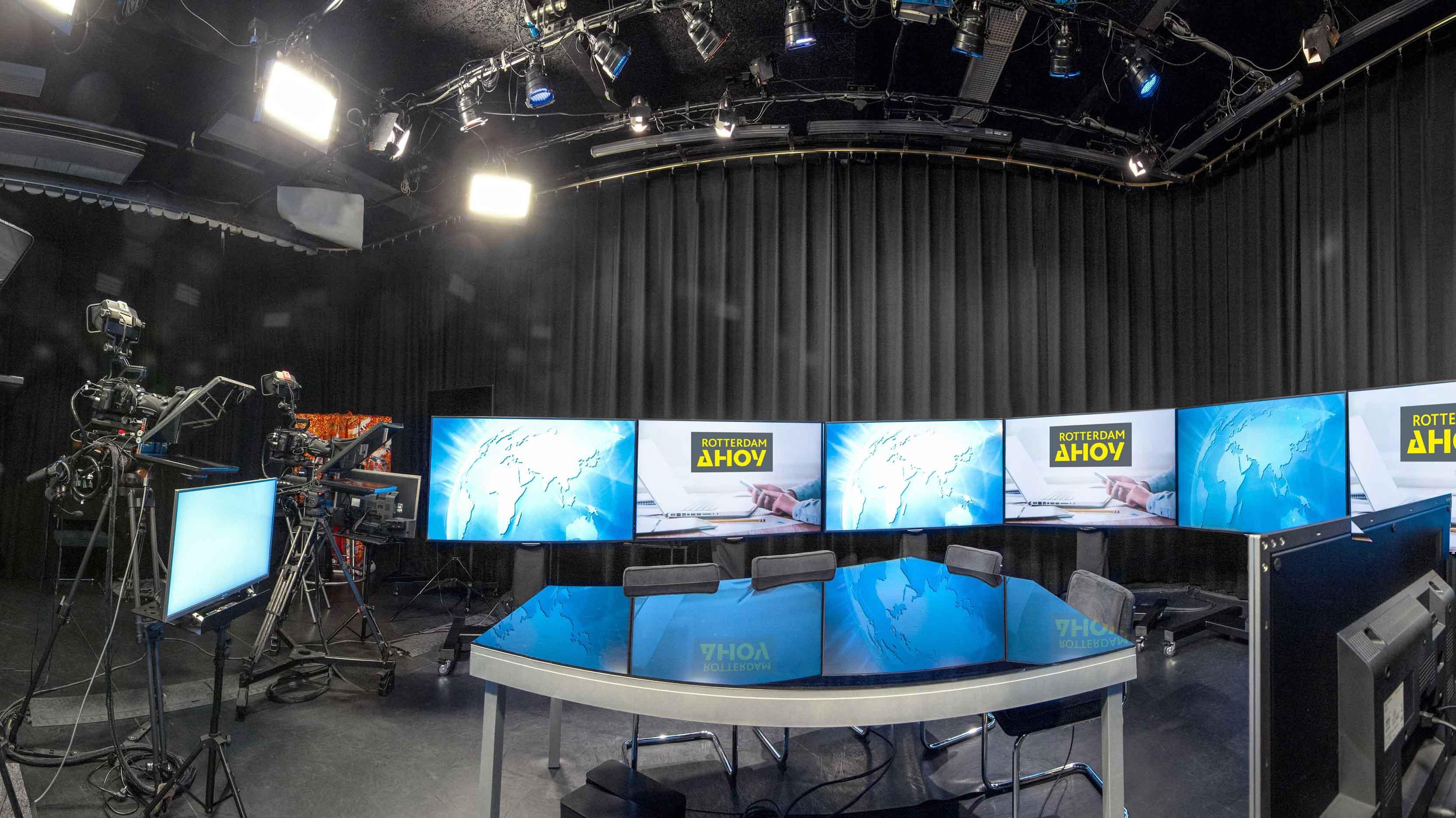 Online Seminar en Rotterdam Ahoy openen nieuwe studio voor live, virtuele en hybride evenementen