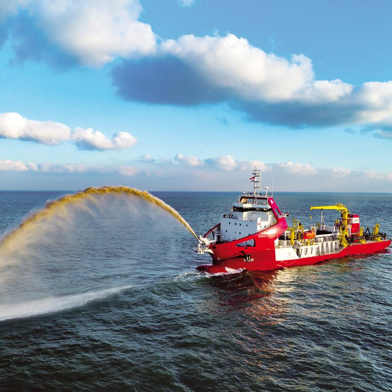 Europort abstract on latest dredging developments