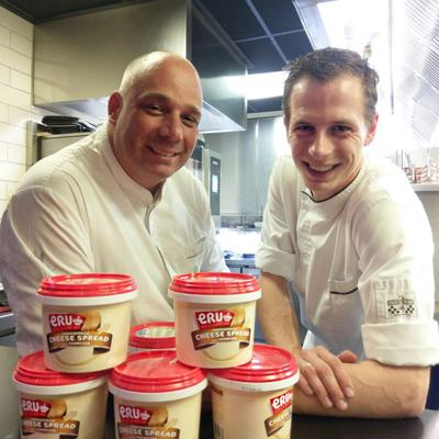 Sterrenrestaurant Amarone kookt met ERU kazen in pop-up-restaurant op Gastvrij Rotterdam
