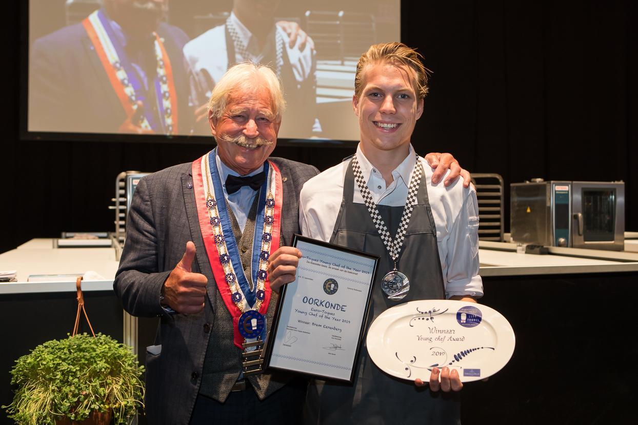 Winnaar Euro-Toques Chef Young Chef Award 2019