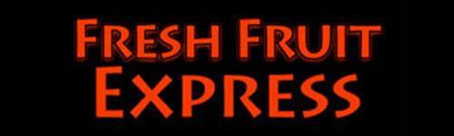 Uko Vegter namens Fresh Fruit Express