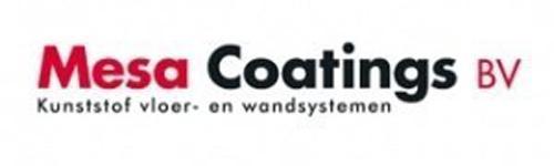 Jan-Peter van Eenden namens Mesa Coatings BV