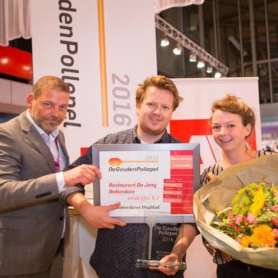 AD Gouden Pollepels 2017 uitgereikt op horecavakbeurs Gastvrij Rotterdam
