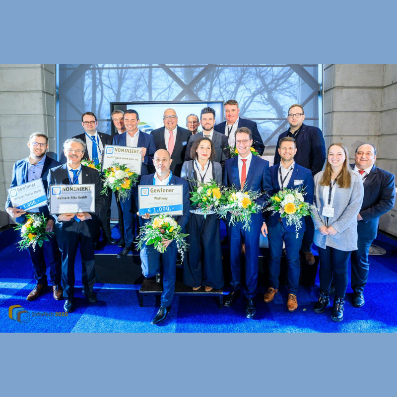 Minister Wüst verleiht den InfraTech Innovationspreis