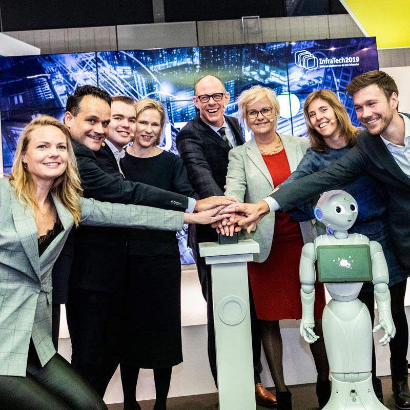 Directeur-Generaal Rijkswaterstaat Michèle Blom opent InfraTech 2019