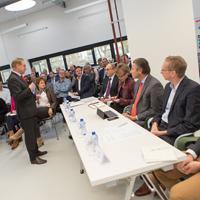 Inspirerende pitches in De Bouwcampus voor InfraTech Innovatieprijs 2017