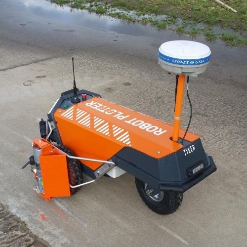 Robot Plotter voor het eerst te zien op een beurs