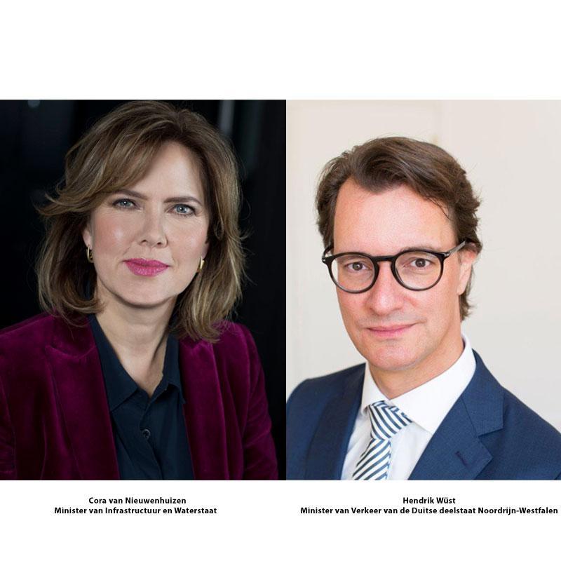 """Nederlandse en Duitse minister aanwezig op InfraTech bij NRW-Nederland forum """"Visie mobiliteit 2050"""""""