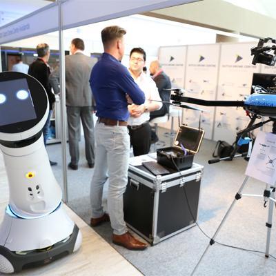 TUS Expo Europe laat zien dat robots niet meer zijn weg te denken.