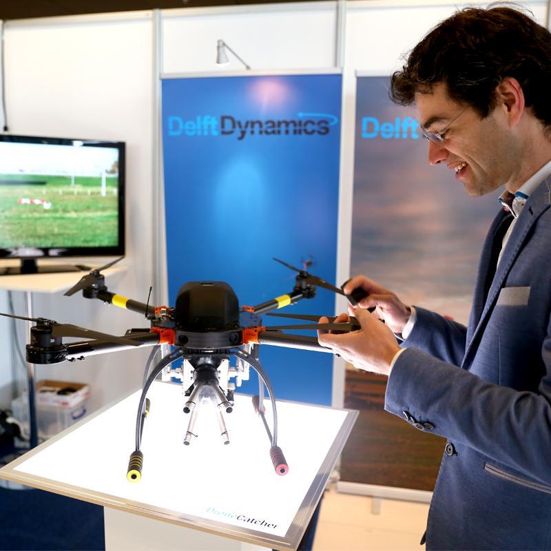 Toonaangevend evenement over unmanned systems en drones tijdens InfraTech 2019
