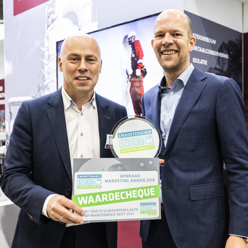 Brand Energy and Infrastructure Services wint Maintenance NEXT Marketing Award