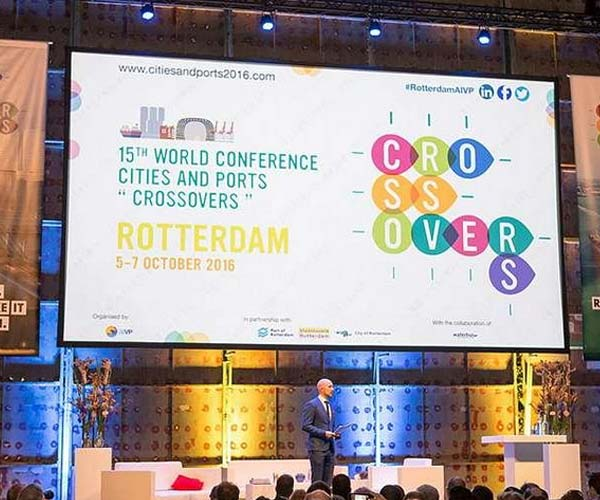 """15th World Conference Cities and Ports """"Crossovers"""""""