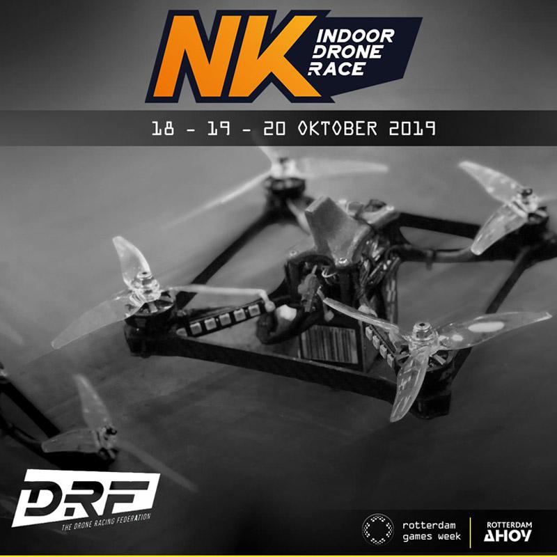 TDRF introduces the Dutch Championship Indoor Drone Race