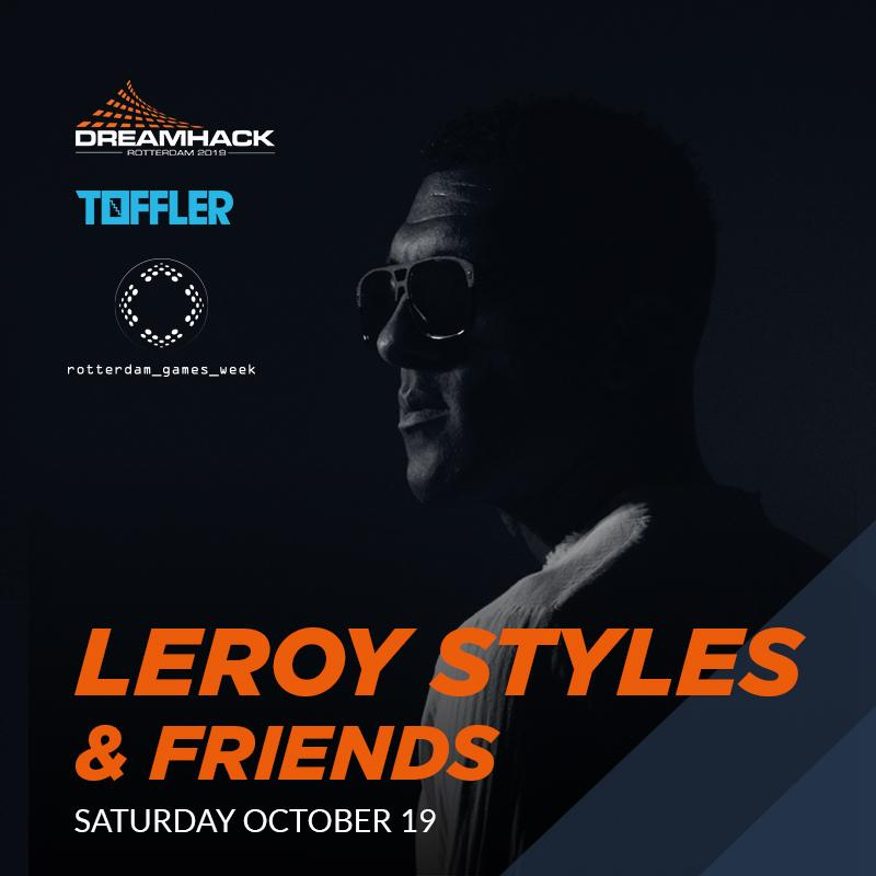 Leroy Styles plays at Rotterdam Games Week