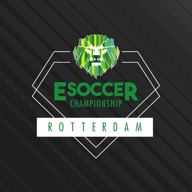 Finale Esoccer Championship Rotterdam in Ahoy