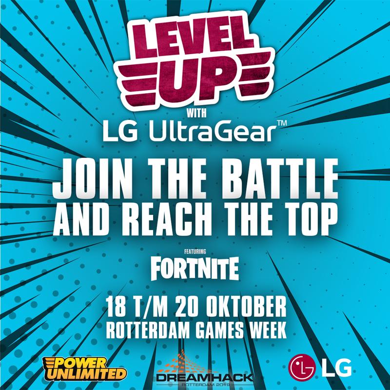 LG LevelUp x Fortnite