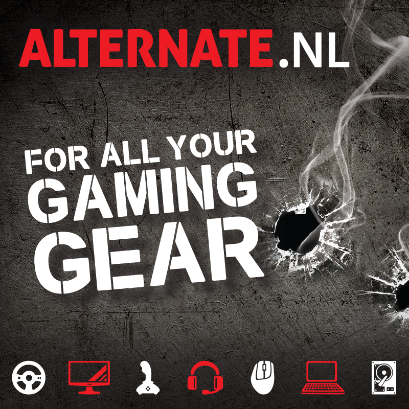 Alternate exclusive retail partner DreamHack Rotterdam