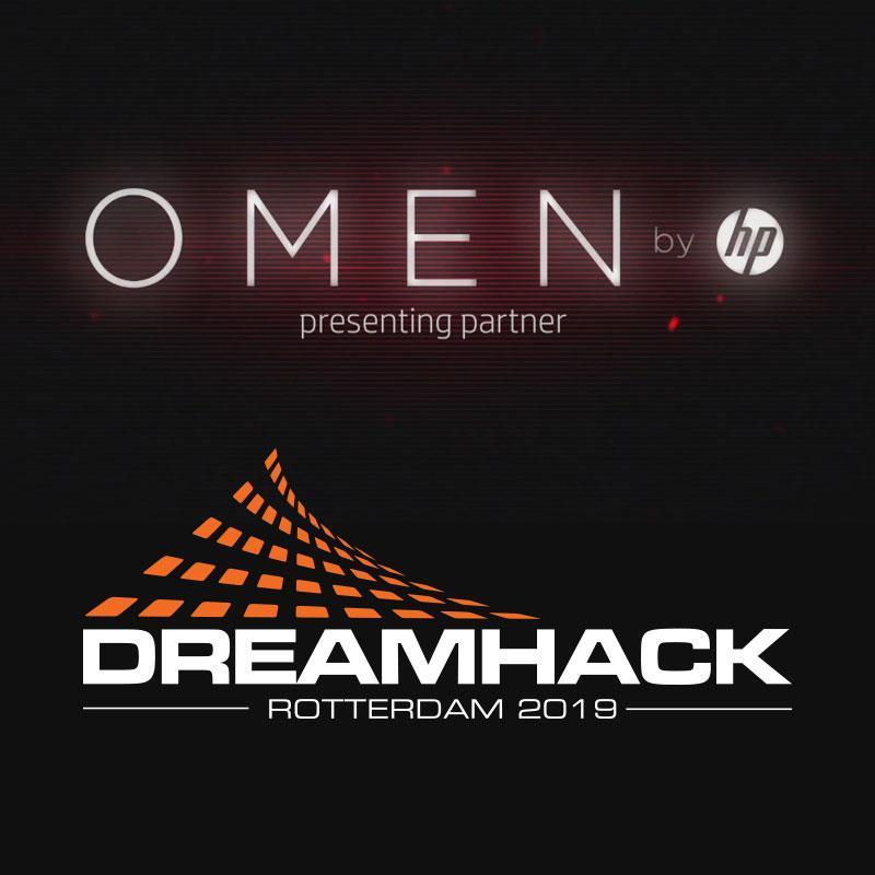 OMEN by HP presenting partner DreamHack Rotterdam 2019