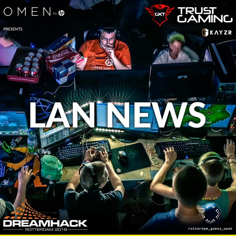 LAN update: Final competitions added