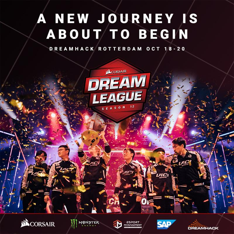The schedule for the DreamLeague Dota 2 tournament is out