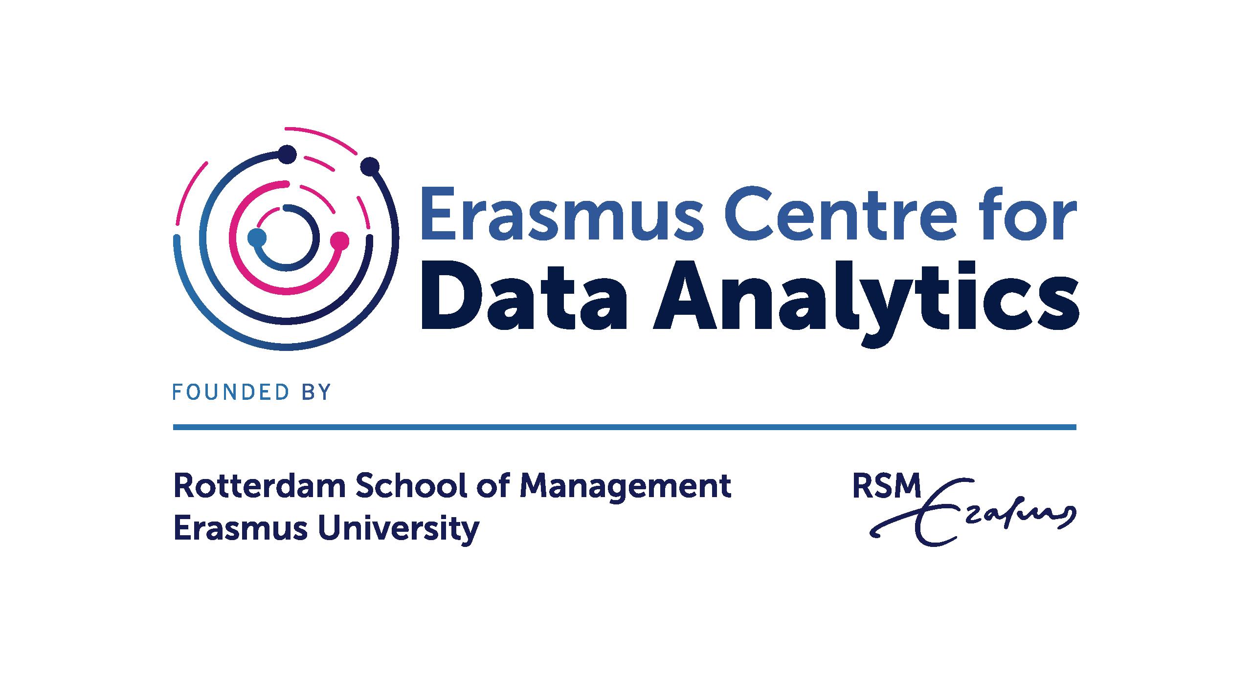 Logo Erasmus Centre for Data Analytics
