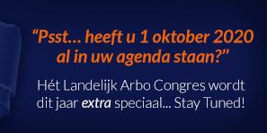 Landelijk Arbocongres: 1 oktober 2020