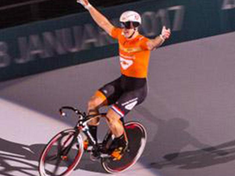 Nationale sprinttop in duel met Polen in de Wooning Zesdaagse van Rotterdam
