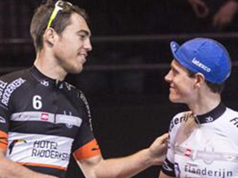 Niki Terpstra en Jens Mouris naar Wooning Zesdaagse van Rotterdam