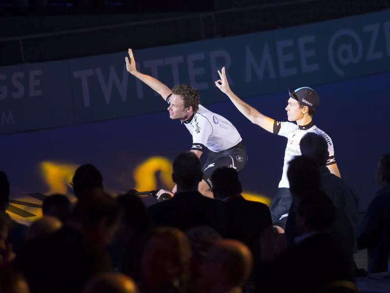 Iljo Keisse en Niki Terpstra Vrienden en strijdmakkers weer herenigd op de piste
